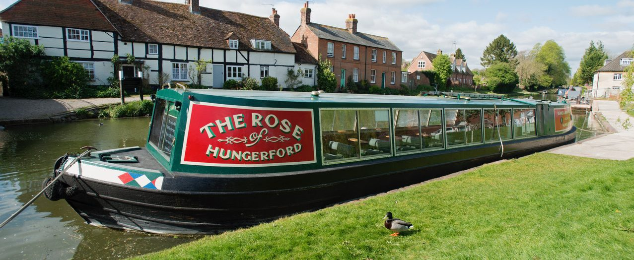 The Rose of Hungerford Trip Boat