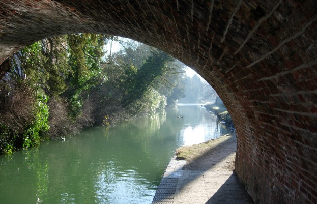 Canal road bridge, Hungerford